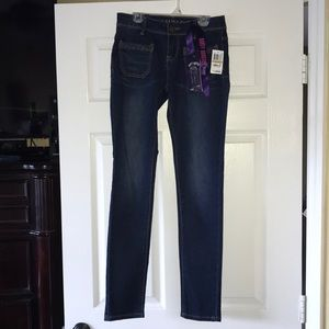 Rampage Booty Booster Skinny Jeans